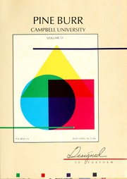 Page 5, 1986 Edition, Campbell University - Pine Burr Yearbook (Buies Creek, NC) online yearbook collection