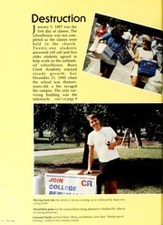 Page 10, 1987 Edition, Campbell University - Pine Burr Yearbook (Buies Creek, NC) online yearbook collection