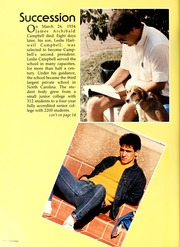 Page 16, 1987 Edition, Campbell University - Pine Burr Yearbook (Buies Creek, NC) online yearbook collection