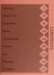 Page 3, 1987 Edition, Campbell University - Pine Burr Yearbook (Buies Creek, NC) online yearbook collection