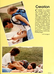 Page 9, 1987 Edition, Campbell University - Pine Burr Yearbook (Buies Creek, NC) online yearbook collection