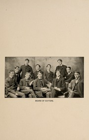 Page 11, 1901 Edition, Washington and Lee University - Calyx Yearbook (Lexington, VA) online yearbook collection