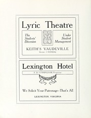 Page 294, 1914 Edition, Washington and Lee University - Calyx Yearbook (Lexington, VA) online yearbook collection