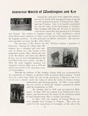 Page 16, 1915 Edition, Washington and Lee University - Calyx Yearbook (Lexington, VA) online yearbook collection
