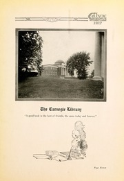 Page 15, 1917 Edition, Washington and Lee University - Calyx Yearbook (Lexington, VA) online yearbook collection