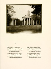Page 15, 1922 Edition, Washington and Lee University - Calyx Yearbook (Lexington, VA) online yearbook collection