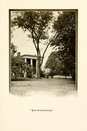 Page 17, 1922 Edition, Washington and Lee University - Calyx Yearbook (Lexington, VA) online yearbook collection