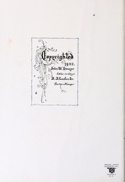 Page 6, 1922 Edition, Washington and Lee University - Calyx Yearbook (Lexington, VA) online yearbook collection