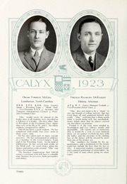 Page 100, 1923 Edition, Washington and Lee University - Calyx Yearbook (Lexington, VA) online yearbook collection