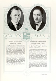 Page 103, 1923 Edition, Washington and Lee University - Calyx Yearbook (Lexington, VA) online yearbook collection