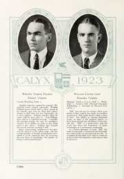 Page 90, 1923 Edition, Washington and Lee University - Calyx Yearbook (Lexington, VA) online yearbook collection
