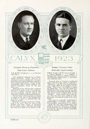 Page 96, 1923 Edition, Washington and Lee University - Calyx Yearbook (Lexington, VA) online yearbook collection