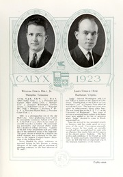 Page 97, 1923 Edition, Washington and Lee University - Calyx Yearbook (Lexington, VA) online yearbook collection
