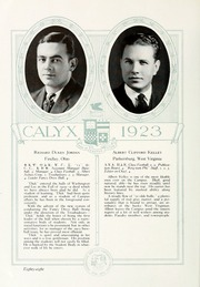 Page 98, 1923 Edition, Washington and Lee University - Calyx Yearbook (Lexington, VA) online yearbook collection