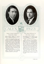Page 99, 1923 Edition, Washington and Lee University - Calyx Yearbook (Lexington, VA) online yearbook collection