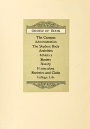 Page 14, 1924 Edition, Washington and Lee University - Calyx Yearbook (Lexington, VA) online yearbook collection