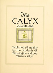 Page 9, 1924 Edition, Washington and Lee University - Calyx Yearbook (Lexington, VA) online yearbook collection