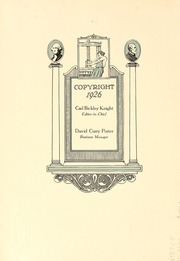 Page 8, 1926 Edition, Washington and Lee University - Calyx Yearbook (Lexington, VA) online yearbook collection