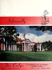 Page 5, 1950 Edition, Washington and Lee University - Calyx Yearbook (Lexington, VA) online yearbook collection