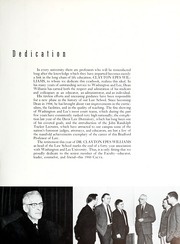 Page 13, 1960 Edition, Washington and Lee University - Calyx Yearbook (Lexington, VA) online yearbook collection