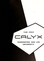 Page 5, 1960 Edition, Washington and Lee University - Calyx Yearbook (Lexington, VA) online yearbook collection