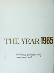 Page 16, 1965 Edition, Washington and Lee University - Calyx Yearbook (Lexington, VA) online yearbook collection