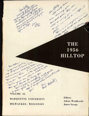 Page 4, 1956 Edition, Marquette University - Hilltop Yearbook (Milwaukee, WI) online yearbook collection
