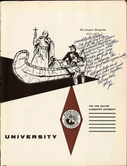 Page 5, 1956 Edition, Marquette University - Hilltop Yearbook (Milwaukee, WI) online yearbook collection