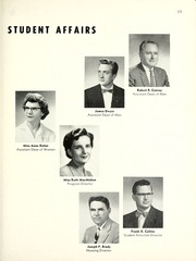 Page 17, 1959 Edition, Marquette University - Hilltop Yearbook (Milwaukee, WI) online yearbook collection