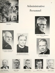 Page 15, 1961 Edition, Marquette University - Hilltop Yearbook (Milwaukee, WI) online yearbook collection