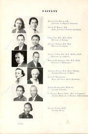 Page 14, 1939 Edition, North Carolina Central University - Eagle Yearbook (Durham, NC) online yearbook collection