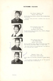 Page 16, 1939 Edition, North Carolina Central University - Eagle Yearbook (Durham, NC) online yearbook collection