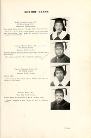 Page 17, 1939 Edition, North Carolina Central University - Eagle Yearbook (Durham, NC) online yearbook collection