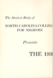 Page 4, 1939 Edition, North Carolina Central University - Eagle Yearbook (Durham, NC) online yearbook collection