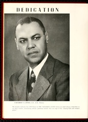 Page 10, 1952 Edition, North Carolina Central University - Eagle Yearbook (Durham, NC) online yearbook collection