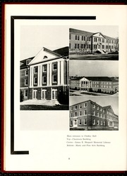 Page 12, 1952 Edition, North Carolina Central University - Eagle Yearbook (Durham, NC) online yearbook collection