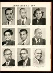 Page 15, 1952 Edition, North Carolina Central University - Eagle Yearbook (Durham, NC) online yearbook collection