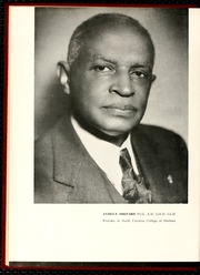 Page 8, 1952 Edition, North Carolina Central University - Eagle Yearbook (Durham, NC) online yearbook collection