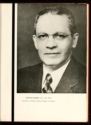 Page 9, 1952 Edition, North Carolina Central University - Eagle Yearbook (Durham, NC) online yearbook collection