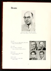Page 14, 1956 Edition, North Carolina Central University - Eagle Yearbook (Durham, NC) online yearbook collection