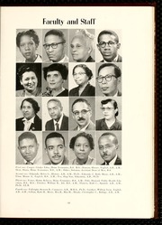 Page 17, 1956 Edition, North Carolina Central University - Eagle Yearbook (Durham, NC) online yearbook collection