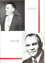 Page 13, 1960 Edition, North Carolina Central University - Eagle Yearbook (Durham, NC) online yearbook collection