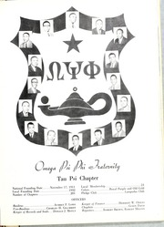Page 55, 1960 Edition, North Carolina Central University - Eagle Yearbook (Durham, NC) online yearbook collection