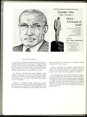 Page 10, 1980 Edition, North Carolina Central University - Eagle Yearbook (Durham, NC) online yearbook collection