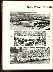 Page 8, 1983 Edition, North Carolina Central University - Eagle Yearbook (Durham, NC) online yearbook collection