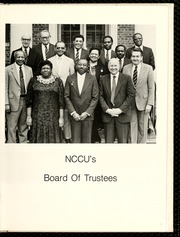 Page 11, 1986 Edition, North Carolina Central University - Eagle Yearbook (Durham, NC) online yearbook collection