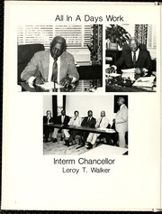 Page 12, 1986 Edition, North Carolina Central University - Eagle Yearbook (Durham, NC) online yearbook collection