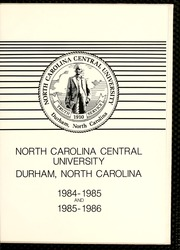 Page 5, 1986 Edition, North Carolina Central University - Eagle Yearbook (Durham, NC) online yearbook collection