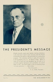 Page 10, 1933 Edition, Middle Tennessee State University - Midlander Yearbook (Murfreesboro, TN) online yearbook collection