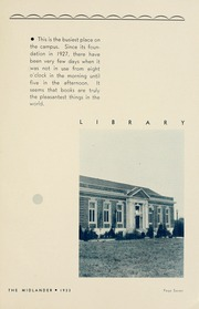 Page 13, 1933 Edition, Middle Tennessee State University - Midlander Yearbook (Murfreesboro, TN) online yearbook collection